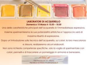 Lab Acquerello 15 marzo
